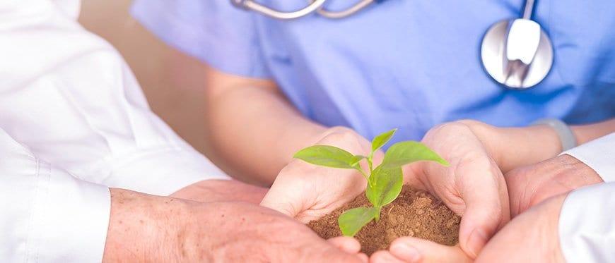 Healthcare sustainability hospitals