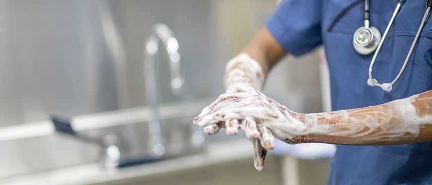 how to improve hand sanitizer use in healthcare