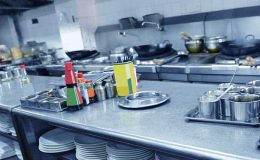 open restaurant kitchen